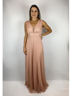 Vestido Tule Poa Rose - Patricia Rios