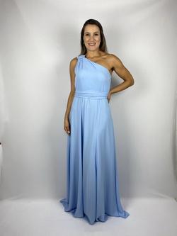Vestido Grego Azul Bebe - Patricia Rios