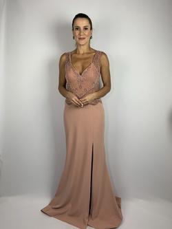 Vestido Longo com Fenda Rose - Patricia Rios