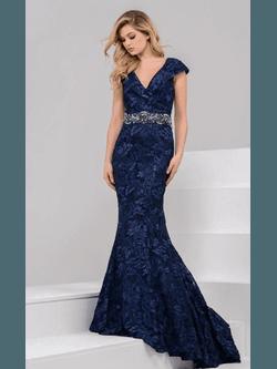 Vestido Guiper Azul Marinho - Patricia Rios