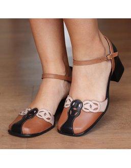 Sapato Retro Feminino - Universo Bubblē