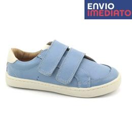 Tênis Infantil Masculino Antônio - Ártico/ Off White - Blue Infantis