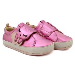 Tênis Velcro Infantil Feminino Joice - Rosa - Blue Infantis