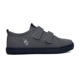 Tênis Infantil Velcro Lona Vinte Sete - Cinza - Blue Infantis