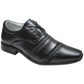 Sapato Social Masculino - F1205 Preto - CALÇADOS ALCALAY