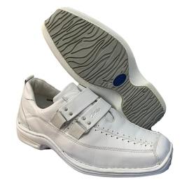 Sapato Anti Stress Alcalay Promoção - 0404 Branco - CALÇADOS ALCALAY