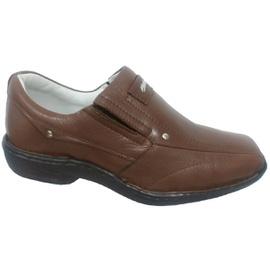 Sapato Anti Stress Alcalay - 0457 Chocolate - CALÇADOS ALCALAY