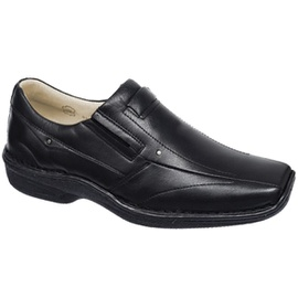 Sapato Anti Stress Alcalay - 0457 Preto - CALÇADOS ALCALAY