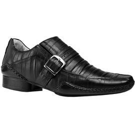 Sapato Social Masculino - L3018 Preto - CALÇADOS ALCALAY