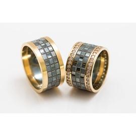 Alianças de Casamento Glamour - Diamantes - Ouro ... - Helder Joalheiros