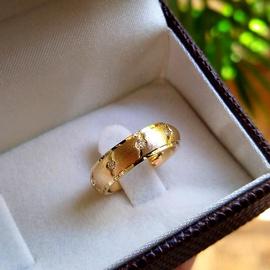 Aliança em Ouro de Casamento com Brilhantes - Helder Joalheiros