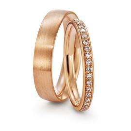 Aliança de Casamento em Ouro Rosê - Helder Joalheiros