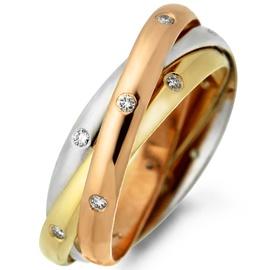 Aliança Cartier com Diamantes - Ouro 18k - Helder Joalheiros
