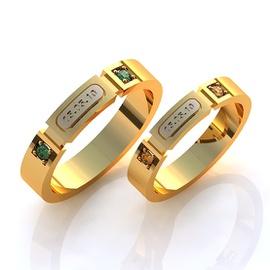 Aliança de Casamento Data - Helder Joalheiros