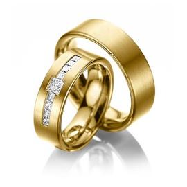 Aliança de Casamento com Diamantes Prince - Helder Joalheiros