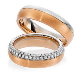Aliança Cravejada com Diamantes - Helder Joalheiros