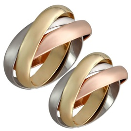 Aliança Cartier de Casamento - Ouro 18k Cartier - Helder Joalheiros