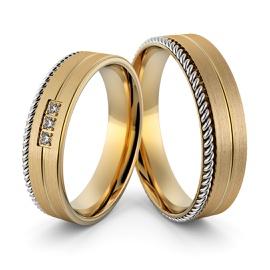 Aliança em Ouro 18k Personalizada com Diamantes - Helder Joalheiros