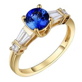 Anel de Formatura com Diamantes Trapézio - Helder Joalheiros