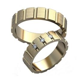 Aliança de Casamento em Ouro Branco - Helder Joalheiros