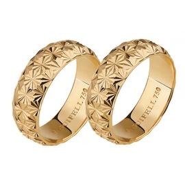 Aliança de Casamento Diamantada - Helder Joalheiros