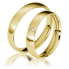 Aliança Clássica em Ouro 18k - Ouro 18k - Helder Joalheiros