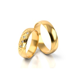 Aliança de Casamento California - Helder Joalheiros