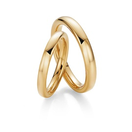 Aliança Clássica em ouro 18k - Helder Joalheiros