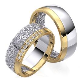 Aliança de Casamento Glamour Flower - Helder Joalheiros
