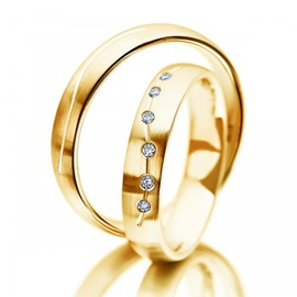 Aliança para Casamento em ouro 18k 750 - Helder Joalheiros