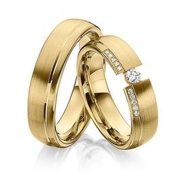 Aliança em Ouro 18k com Diamantes Flutuante - Helder Joalheiros