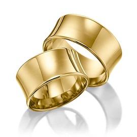 Aliança de Casamento Côncava - Helder Joalheiros