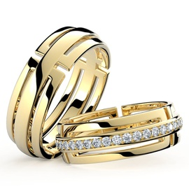 Aliança Para Casamento - ouro 18k - Helder Joalheiros