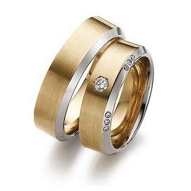 Aliança De Casamento em Ouro 18k Cravejada com Dia... - Helder Joalheiros