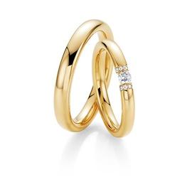 Aliança Para Casamento - Diamante Flutuante - Helder Joalheiros