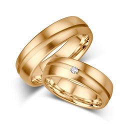 Aliança para Casamento - Ouro 18k 750 - Helder Joalheiros