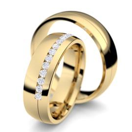 Aliança de Ouro 18k Para Casamento - Helder Joalheiros