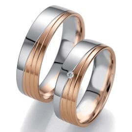 Aliança de Bodas em Ouro 18k com Diamantes - Helder Joalheiros