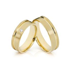 Aliança Ouro 18k 750 - Casamento e Noivado - Helder Joalheiros