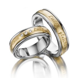 Aliança de Casamento com Nomes - Helder Joalheiros
