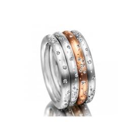 Aliança Florence com Diamantes - Helder Joalheiros