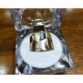 Anel em Ouro 18k Tricolor - Helder Joalheiros