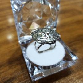 Anel em Ouro Branco 18k com Diamantes - Helder Joalheiros