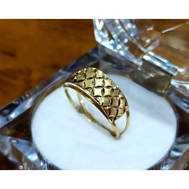 Anel em Ouro 18k Fosco e Polido - Helder Joalheiros