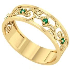 Anel de Formatura em Ouro Enfermagem com Pedras - Helder Joalheiros