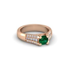 Anel Formatura em Ouro 18k com Diamantes - Helder Joalheiros