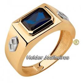 Anel de Formatura Ouro 18k - Helder Joalheiros