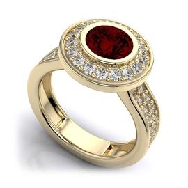 Anel de Formatura Cravejado com Diamantes - Helder Joalheiros