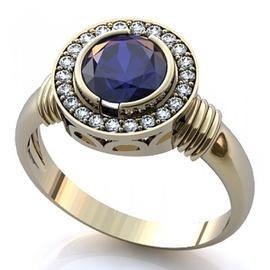 Anel de Formatura em Ouro 18k com Diamantes - Helder Joalheiros