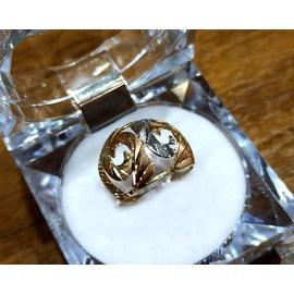 Anel em Ouro 18k Tricolor Diamantado - Helder Joalheiros